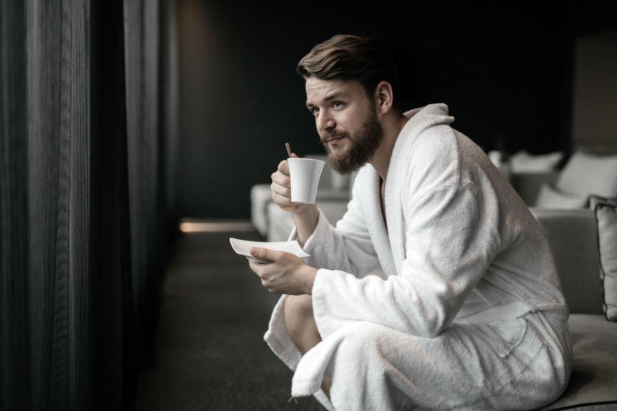 morgenkåber til mænd