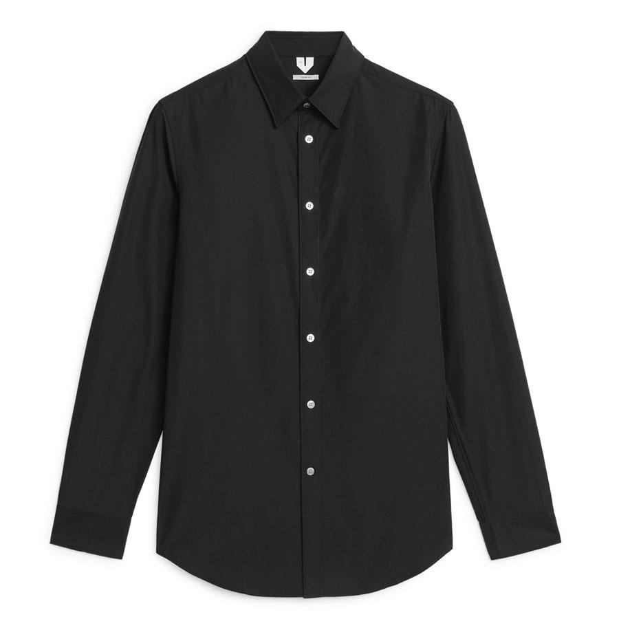 Arket herreskjorte i sort