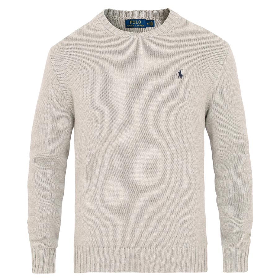 Ralph Lauren Cotton Crew striktrøje