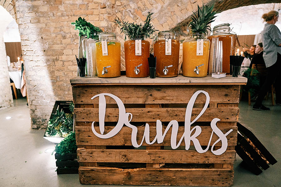 Just serve it drinks