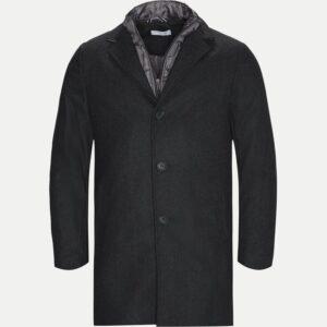 Allan Clark Regular frakke i Grå - Herrefrakke