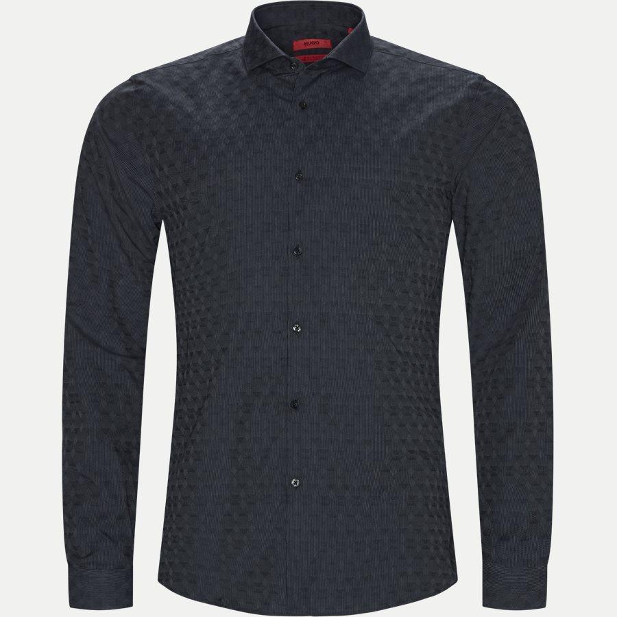 Hugo slim fit erriko skjorte grå