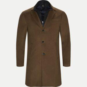 Sand Regular - Cashmere Coat Sultan Tech (Brun)