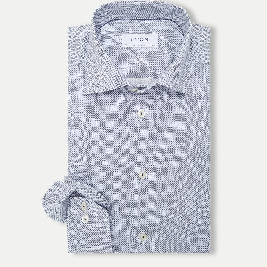 eton skjorter blå