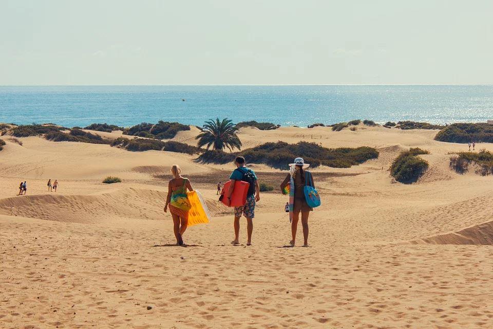 Tag med vennerne på eventyr til Gran Canaria
