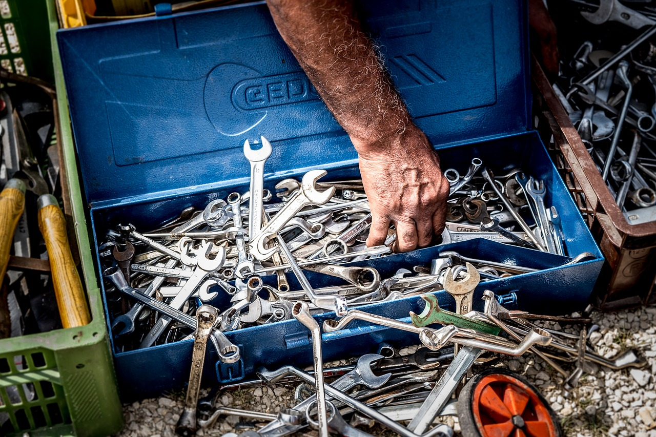 Find det værktøj du leder efter